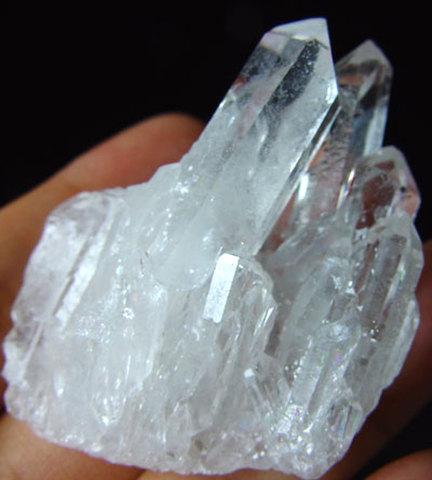 天然水晶ミニクラスター№00035