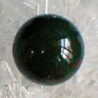 ブラッドストーン20mm丸玉