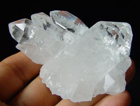 天然水晶クラスター№00030