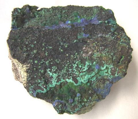 アズライトマラカイト原石№10151
