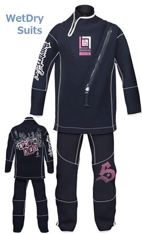 WetDry black/pink (ML) 35120  [SPYDERFLEX]