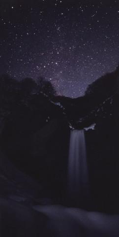 「苗名滝とカシオペア」ポストカード(大判)