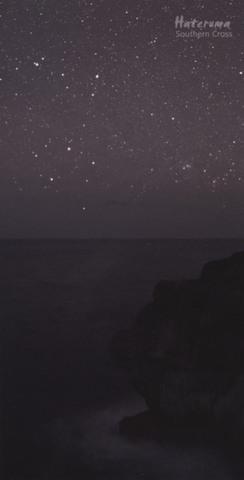 「波照間島の南十字星1」ポストカード(大判)