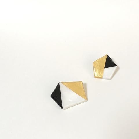 ブローチ【geometric】