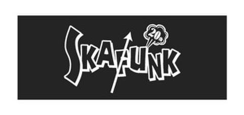 SKAFUNK 20周年anniversary フェイスタオル