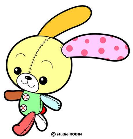 ★ウサギのヌイグルミ★OTH-024