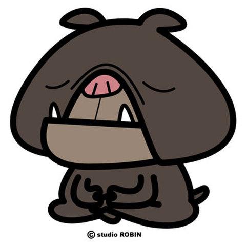 ★座禅犬★INU-045