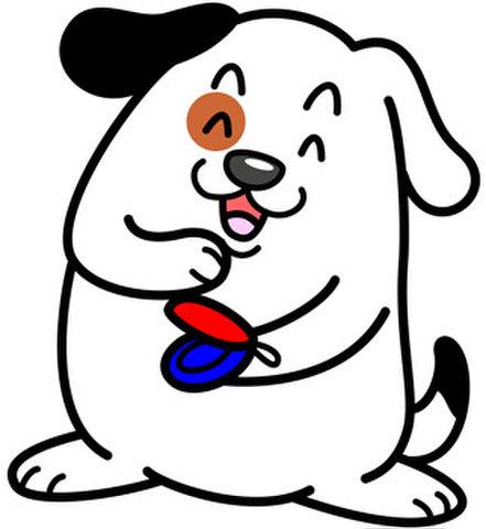 ★カスタネット犬★INU-010