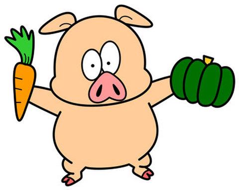 ★八百屋豚★PIG-004