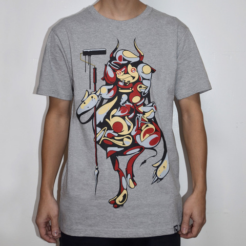 好評につき再入荷 Suiko1 For Dripsndrops TEE : GREY