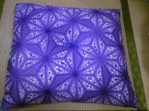 紫大判座布団