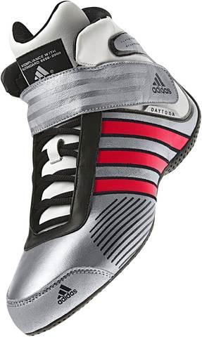 adidas  Daytona Boots Silver/Red