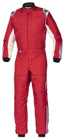 adidas Clima Cool Suit  Red/White