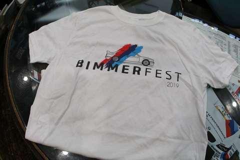 Bimmerfest 2019 T-Shirt  E30M3デザイン