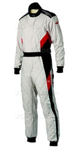 PUMA レーシングスーツ アバンティ AVANTI ホワイト×ブラック×レッド
