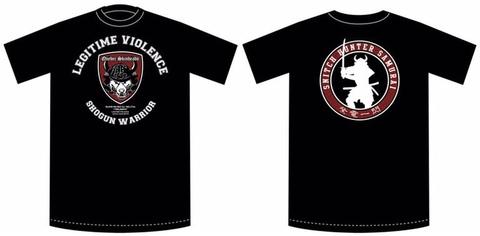 LEGITIME VIOLENCE Japan Tour T-shirt
