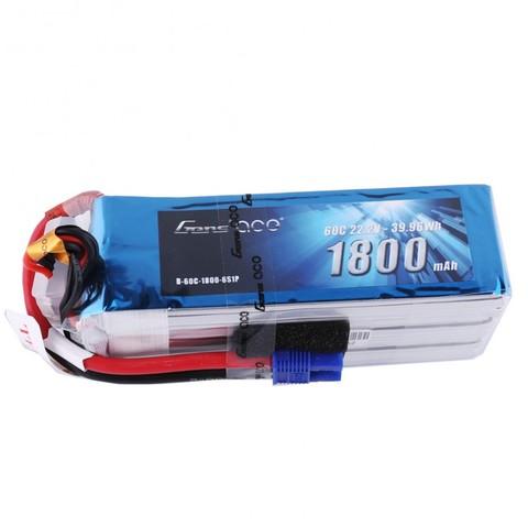 【セール!】Gens ace 6S 1800mAh 60C リポバッテリー