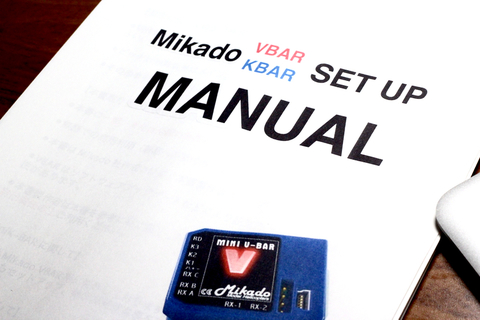 Mini VBAR 日本語取説(スタンダード)