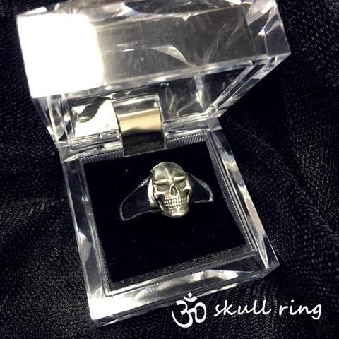 ж Skull ring スカルリング