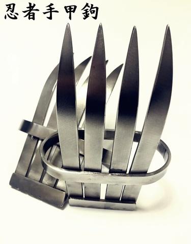 セール!◆ 忍者セット◆忍者鉄甲鉤・忍者フック・結合手裏剣・鉄拳壱