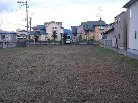 赤城駅近く4区画分譲地!