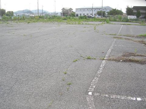 阿左美!店舗、駐車場など事業用地に!