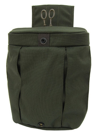 Emdom Zippered Dump Pouch SewerGreen