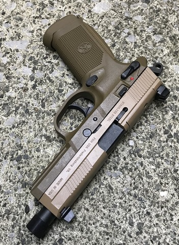 CyberGun FNX-45 Tactical ガスブローバックピストル (DE)