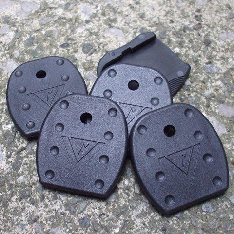 Vickers Tactical Glock マガジンフロアープレート 5枚入り