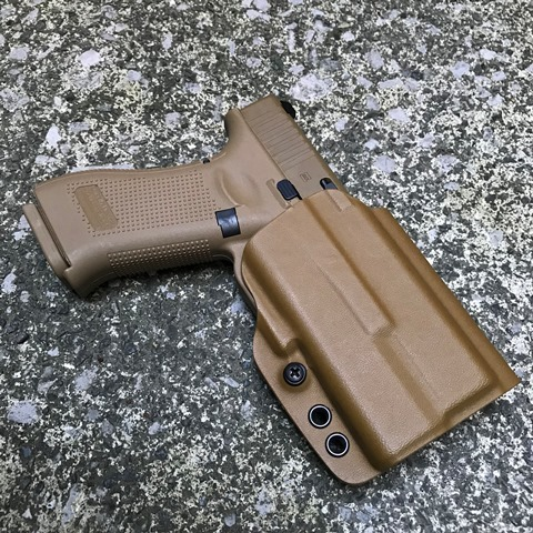 G-Code G19・G19X/XC-1用 OSL Kydex Holster/RMR CUT Coyote Tan