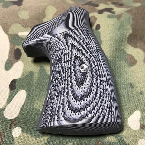 VZ Grips S&W K/Lラウンドフレーム用R2S CONVERSION Tactical Diamond Black Grey