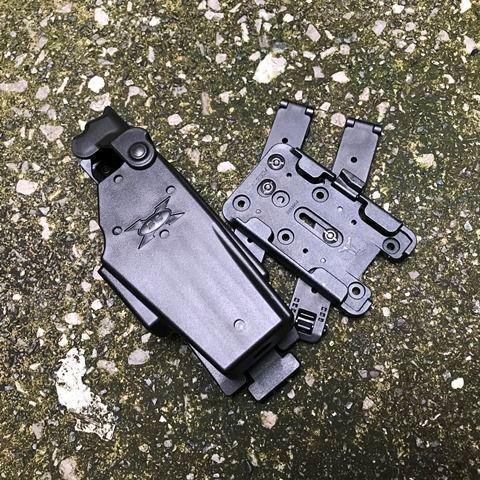 Blade-Tech Taser X26 Holster TMMS  MOLLE-LOK Gen.3