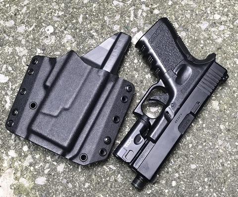 RCS  G19/XC1 ファントム・ライト・ホルスター Government Contracts Black