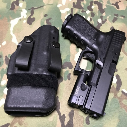 RCS MORRIGAN IWB/AIWB Holster G19 with XC-1