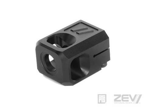PTS ZEV V2 Pro コンペンセイター (14mm逆ネジ)  Black