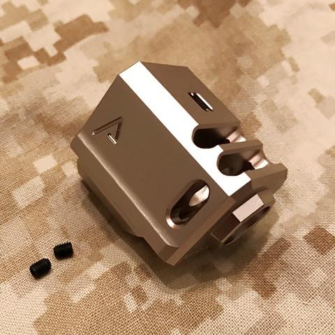 RWA Agency Arms 417 コンプ(14mm逆ネジ・シルバー)