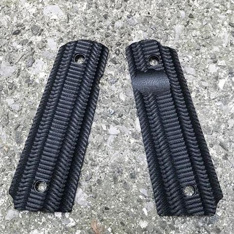 VZ Grips Alien グリップ/Thumb Notch  Black (WA,マルイGMフレーム加工済み)