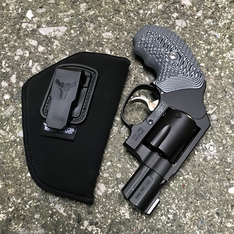 Blade-Tech リボルバー用 Soft IWB Holster