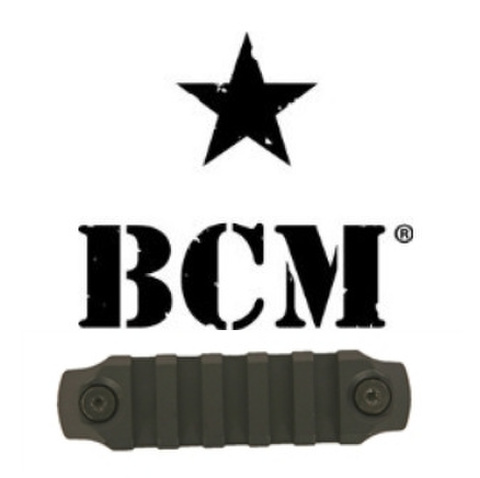 BCM® KeyMod™ 3 Inch Picatinny Rail Section, Nylon - Black