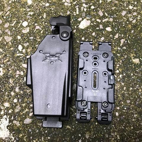 Blade-Tech Taser X26 Holster TMMS  MOLLE-LOK Gen.3(ストレート)