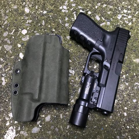 G-Code  OSL G19/SF X300 Ultra用 Holster/Belt Slide/RMR CUT プレデターグリーン