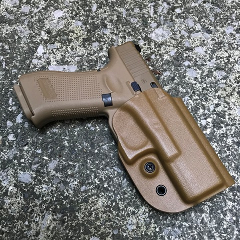 G-Code  G19/G19X用 OSH Kydex Holster RMR CUT Coyote Tan