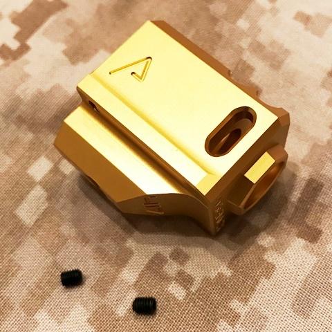 RWA Agency Arms 417 コンプ(14mm逆ネジ・ゴールド)