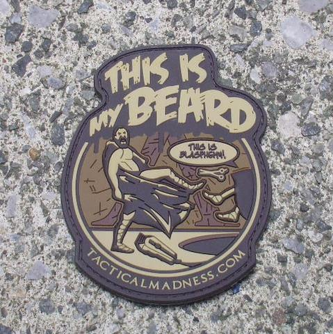 This Is My Beard patch