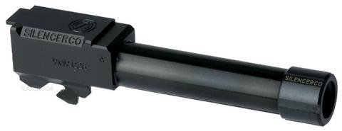 DETONATOR マルイG26用Silencercoアルミアウターバレル (14mm逆ネジ)