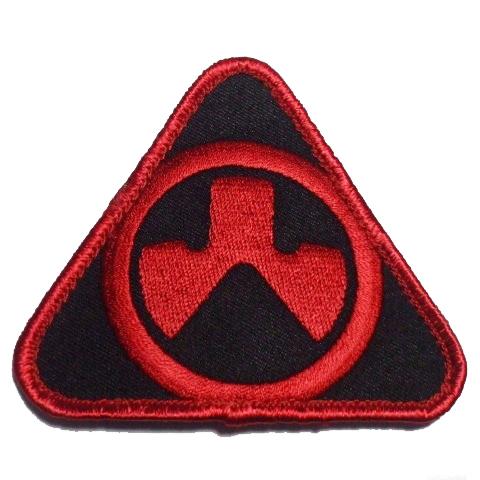 MAGPUL DYNAMICS ロゴパッチ RED/BLACK