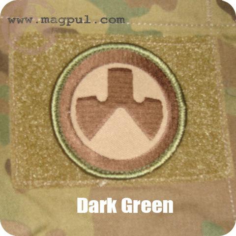 MAGPUL ロゴパッチ DarkGreen