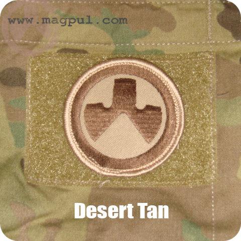 MAGPUL ロゴパッチ DESERT
