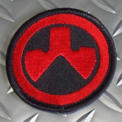 MAGPUL ロゴパッチ RED/BLACK