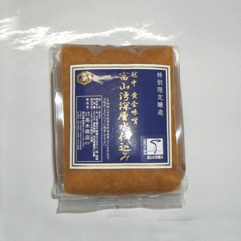 黄金味噌 富山湾深層水仕込み 500g